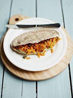 Crunchy carrot pittas   Jamie Oliver#lWH8ywAKbG3kUKjF.97#lWH8ywAKbG3kUKjF.97