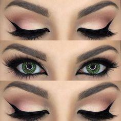 #CatEye #Winged #Eyeliner #Eyes #Ojos #Makeup #Maquillaje