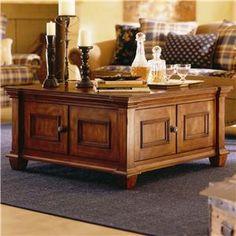 Kincaid Furniture Tuscano Square Tail Table