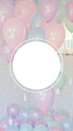 Birthday Captions Instagram, Birthday Post Instagram, Birthday Frames, Birthday Posts, Happy Birthday Wallpaper, Sparkles Background, Photo Frame Design, Instagram Frame Template, Iphone Wallpaper App