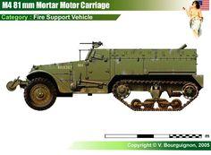M4 81 mm Mortar Motor Carriage
