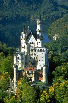 Image detail for -Castle Bavaria Germany - forest snow picture, Neuschwanstein Castle . Beautiful Castles, Beautiful Buildings, Beautiful Places, Places To Travel, Places To See, Le Palace, Germany Castles, Neuschwanstein Castle, 14th Century