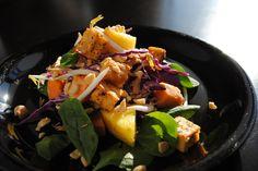Indonesien Peanut Salad with tofu