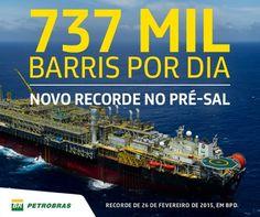 Pregopontocom Tudo: Petrobras bate novos recordes no pré-sal