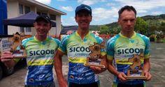 Equipe Timbó Net de ciclismo conquista o pódio no Maraton de Doutor Pedrinho | Portal Timbó Net