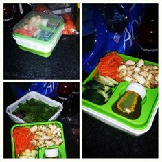 Eat healthy and pack a lunch with our Expandable Salad Container! #stayfit #coolgear