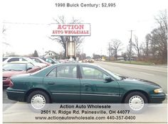 Leather Seats-Rides Like a Buick -No Rust Here Buick Century, Leather Seats, Rust Free, Free Cars, Vehicles, Cars, Vehicle