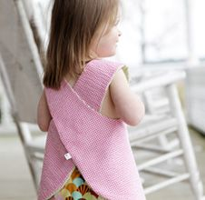 Millie reversible tunic/dress with ruffle bloomers www.flemingclothing.com