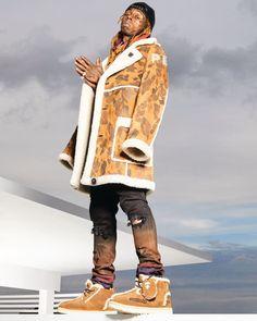 57dafcf64b07 Exclusive  Lil Wayne Models the New Bape x UGG Collaboration