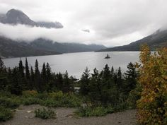 A view of Wild Goose Island. We saw this when hiking Glacier National Park with Road Scholar. #Montana