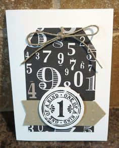 Bold monochromatic tag to attract attention by Karen Ladd
