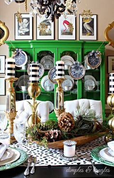 Green with envy eclectic home tour - Debbiedoo's