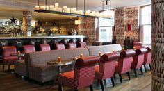 Firmdale Hotels - Brumus Bar & Restaurant - mesas redondas