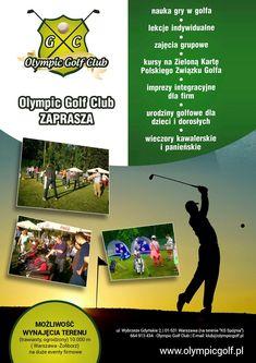 Olympic Golf, Warsaw, Golf Clubs, Olympics