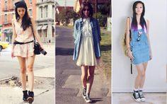 Tênis + vestido: aprenda vários jeitos de usar esta dupla - Moda - CAPRICHO