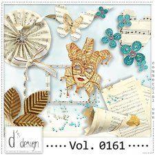 Vol. 0161 - Music & Masquerade Mix  by Doudou's Design  #CUdigitals cudigitals.comcu commercialdigitalscrapscrapbookgraphics #digiscrap