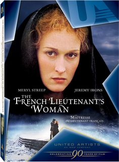 The French Lieutenant's Woman DVD.