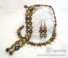 Tapestry - Ein Tutorial für eine Halskette, Armband, Ohrring-Set