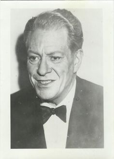 Nelson Eddy - Photo dated 1966, 1 year after Jeanette MacDonald died - ESCANO COLLECTION
