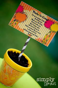 """Photo 1 of 30: Lorax / Spring """"Celebrating earth Day with the Lorax"""" 
