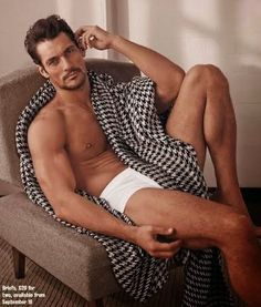 David Gandy covers Times Magazine (UK) unveiling his range of underwear for Marks & Spencer (Picture Update) ~ David James Gandy