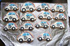 Herbie the Love Bug cookies