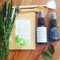 Image of 'PAMPER' Natural Skincare Gift Set.
