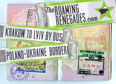 Crossing the border from Poland to Ukraine (at gunpoint, at 4am), How to get from Krakow to Lviv! - The Roaming Renegades Europe Travel Tips, Krakow, Poland, Ukraine, How To Get, Lifestyle Blog, Adventure, Places, Adventure Movies