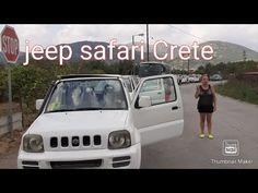 Jeep safari, Crete{credit to Exploringclubcrete} Crete, Jeep, Safari, Channel, Car, Youtube, Travel, Automobile, Viajes