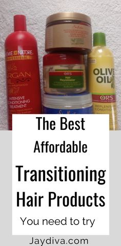 Best Hair Care Products For Transitioning To Natural Hair - Jaydiva