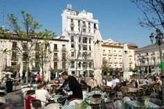 The return of Madrid's feel good factor Madrid, Santa Ana, Plaza, Vacation Ideas, Factors, Feel Good, Dental, Spain, Street View