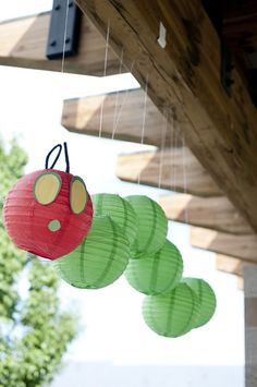 A Very Hungry Caterpillar Party Decor    Pin 3: #WorldEricCarle and #HungryCaterpillar