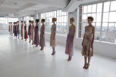 Designer: Gregory Parkinson  Lead: Rodney Cutler for Cutler/Redken  Season: Spring 2013