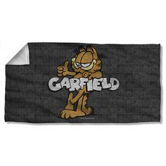 Garfield Retro Beach Towel