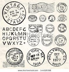 sellos antiguos para imprimir - Buscar con Google