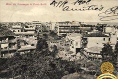 De lesseps street, Port Said city. 1900