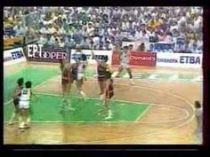 Nikos Gallis Jump Stop. 1987.  The Gallis Jump stop changed the rule book for international basketball