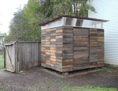 Learning Woodworking Shed DIY - Small Storage Sheds Ideas Projects! With lots of Tutorials! Including this cool reclaimed wood diy storage shed from joseph sandy. Now You Can Build ANY Shed In A Weekend Even If You've Zero Woodworking Experience! Studio Hangar, Cheap Sheds, Studio Shed, Workshop Studio, Modern Shed, Modern Garage, Small Sheds, Backyard Studio, Backyard Gym