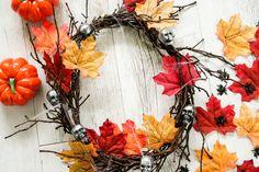 Halloween wreath DIY 🎃💀