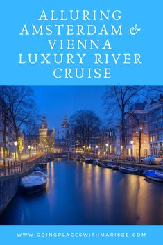 Authentic experiences and local encounters are in store on your cruise along the most scenic parts of the Main, Rhine and Danube rivers. Delight in the full spectrum of Europe's culture, history, art, architecture, cuisine and numerous UNESCO World Heritage sites resting along some of the most legendary rivers.  #goingplaceswithmariske #exploreuniworld #uniworld #rivercruise #europe #amsterdam #vienna #rhineriver #danuberiver #luxurycruise Uniworld River Cruises, Danube River, World Heritage Sites, Luxury Travel, Rivers, Vienna, Spectrum, Amsterdam, Maine