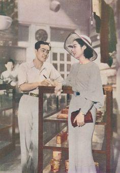 Kuwano Michiko (桑野通子) 1915-1946, Japanese Actress, 桑野みゆき(子) 1950s Fashion Women, Vintage Fashion, 50s Vintage, Vintage Ladies, Vintage Photographs, Vintage Photos, Victorian Photos, Turning Japanese, Vintage Inspired Outfits