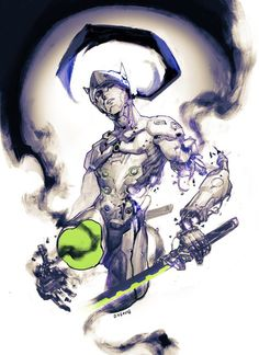 Genji, Overwatch