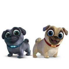 Puppy Dog Pals - Bingo and Rolly Bingo, Pug Puppies, Little Puppies, Pug Pictures, Dog Photos, Amor Pug, Puppy Birthday Parties, Birthday Kids, Fawn Pug
