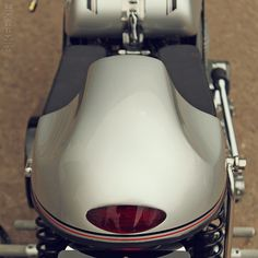 We get quite a few Tritons sent in to Bike EXIF—maybe one every couple of weeks. I'm a big fan of the genre and always enjoying looking at them. Then this modern take… Read Motorcycle Design, Custom Metal, Custom Bikes, Motorbikes, How To Make, Motorcycles, Café Racers, Couple, Bobbers