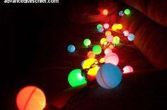 Guirlande guinguette ampoules multicolores sur Amazon