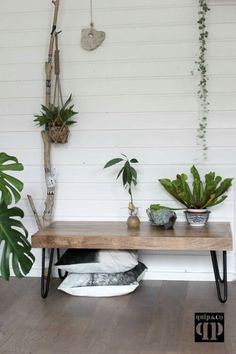 Quip & co www.quip-co. Decorating Your Home, Interior Decorating, Clawfoot Bathtub, Entryway Bench, Interior Inspiration, Flora, Sweet Home, Living Room, House