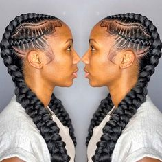 Hi Slayers, For Today, Here are some an awesome simple Braids ideas for the black women, this Braids ideas looks simple but charming . # simple Braids awesome Braids Hairstyles 2020 Pictures: Most Trending Styles for Ladies Nigerian Braids Hairstyles, Feed In Braids Hairstyles, Easy Updo Hairstyles, Frontal Hairstyles, Braided Hairstyles For Black Women, African Hairstyles, Braids For Black Women Cornrows, Elegant Hairstyles, Hair