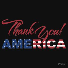 Thank You America