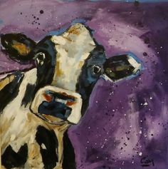 'Space Cow' by Kerr Rodgie's brother, Cameron