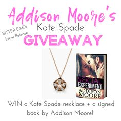Addison Moore's Kate Spade Giveaway!